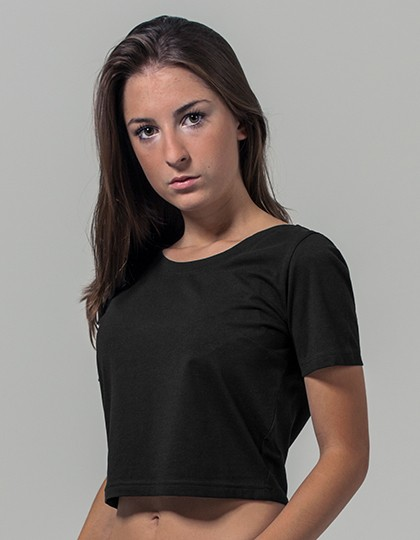 Ladies` Cropped Tee Build Your Brand BY042