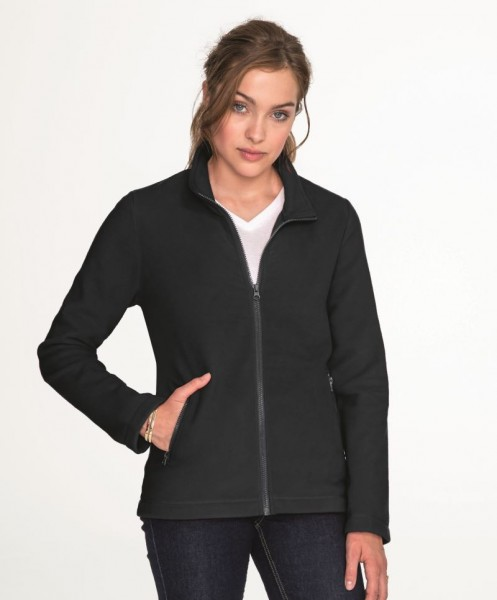 Womens Plain Fleece Jacket Norman Sol's 2094