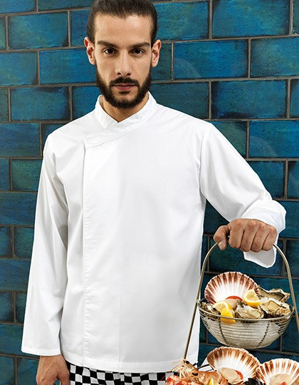 Chef´s Long Sleeve Pull on Tunic Premier PR669