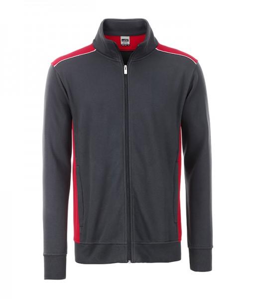 Men's Workwear Sweat Jacket-Level 2 James&Nicholson JN870