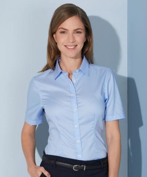 Ladies' Shirt Shortsleeve Micro-Twill James&Nicholson JN683