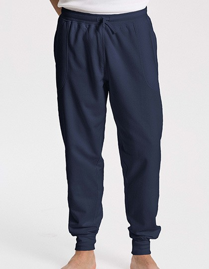 Sweatpants with Cuff and Zip Pocket Neutral 74002