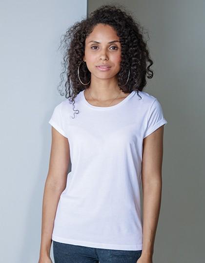 Women`s Roll Sleeve T Mantis P81