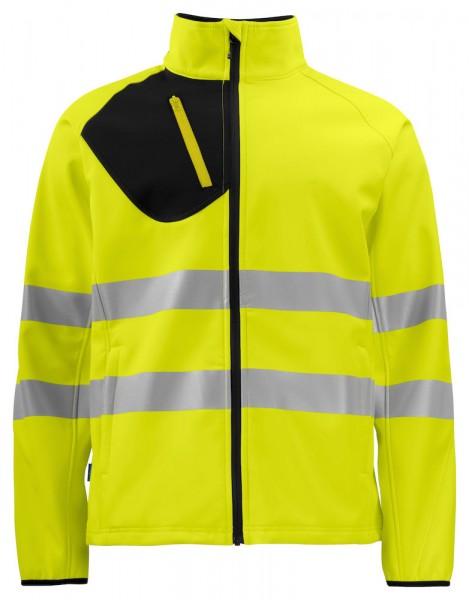 ProJob 6432 Warnschutz Softshell Jacke EN ISO 20471 Kl. 3