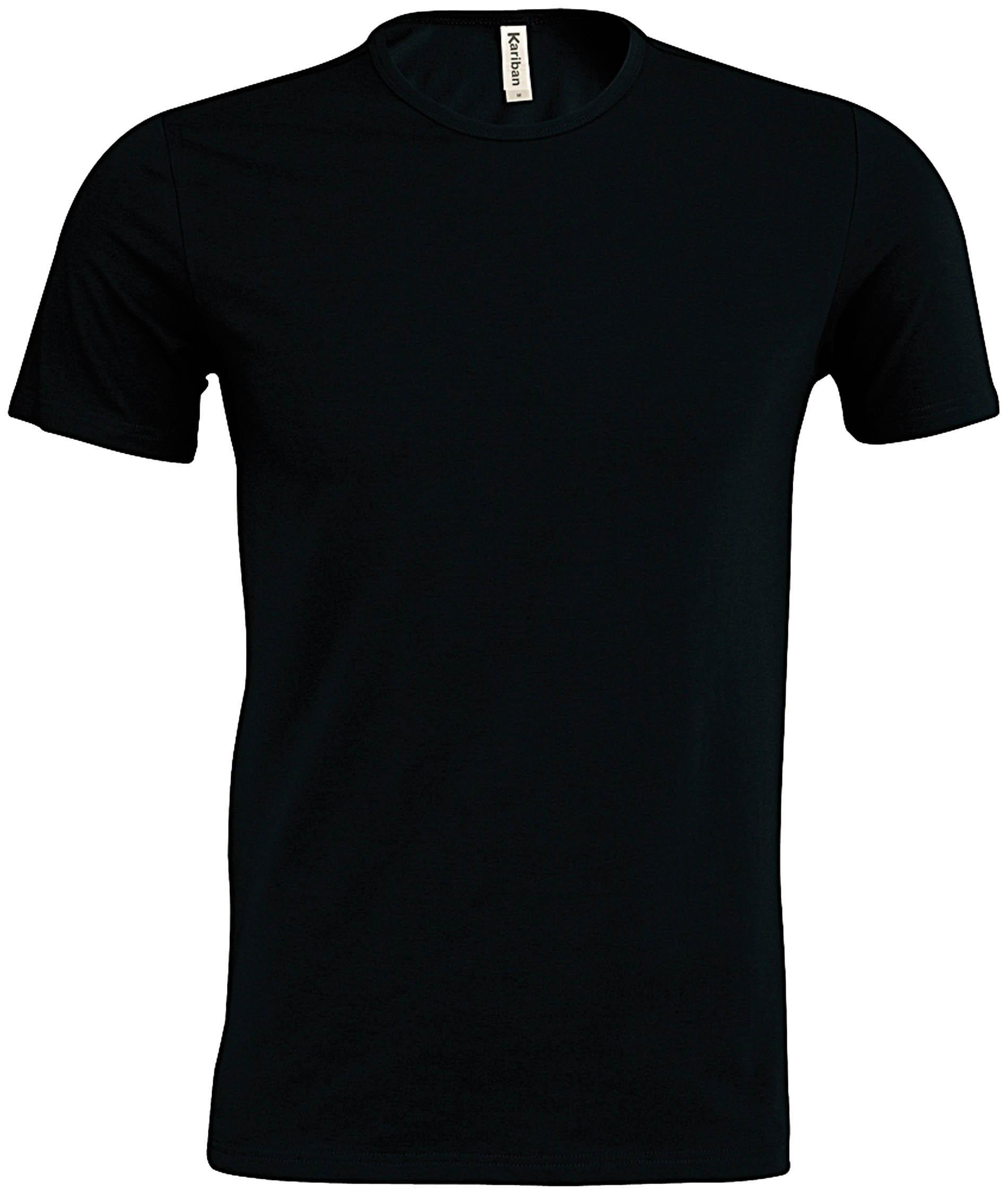 kariban k342 stretch t shirt eros rundhals t shirts herren unisex broga ag. Black Bedroom Furniture Sets. Home Design Ideas